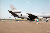 85-0034 @ EGVA - KC-10A Extender of the 305th Air Mobility Wing on display at the 1996 Royal Intnl Air Tattoo at RAF Fairford. - by Peter Nicholson