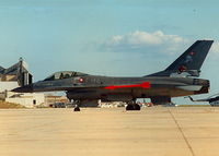 E-199 @ LMML - F16 E-199 Danish Air Force - by raymond