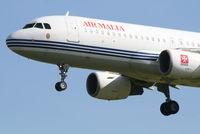 9H-AEF @ EBBR - Arrival of flight KM7610 to RWY 25L - by Daniel Vanderauwera