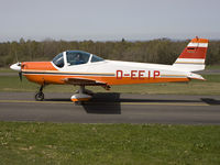D-EEIP @ EBSP - New to the database. Tasxiing to runway 05. - by Philippe Bleus