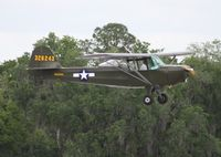 N50454 @ LAL - Taylorcraft L-2