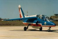 E125 @ LMML - Alphajet E-125/4 Patouille de France - by raymond