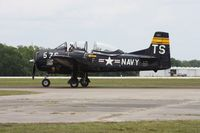 N228TS @ LAL - North American T-28