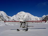 C-GXFB - Helio Courier C-GXFB in front of Mt.Logan Canadas highest Mt.