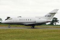 EI-WXP @ EGGW - Raytheon Aircraft Company HAWKER 800, c/n: 258382 at Luton