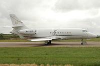 M-YJET @ EGGW - 2008 Dassault Falcon 2000EX EASy, c/n: 148 at Luton