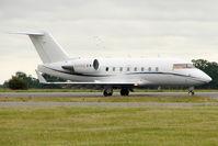 EI-IRE @ EGGW - Bombardier Challenger 604, c/n: 5515 at Luton