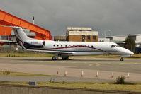 G-LEGC @ EGGW - Embraer EMB 135 BJ Legacy, c/n: 14501045