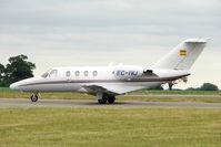 EC-IVJ @ EGGW - 2001 Cessna 525, c/n: 525-0429 at Luton