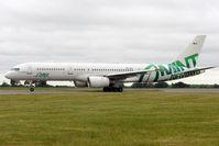 EC-LHL @ EGGW - Mint Airways 1990 Boeing 757-28A, c/n: 24544 at Luton
