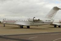 VP-CON @ EGGW - 2008 Bombardier CL-600-2B19, c/n: 8083 at Luton