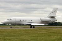 D-BIKA @ EGGW - 2006 Dassault Falcon 2000EX, c/n: 76