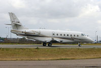VT-JUM @ EGGW - Iai Ltd GULFSTREAM 200, c/n: 239 departing Luton for Oxford
