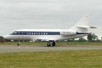 CS-DLH @ EGGW - 2007 Dassault 2000EX, c/n: 149 at Luton
