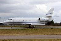P4-IKF @ EGGW - 2011 Dassault Falcon 2000 , c/n: 227 at Luton
