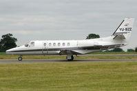 YU-BZZ @ EGGW - Cessna Bravo, c/n: 550-0924 at Luton