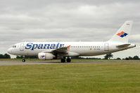 EC-IVG @ EGGW - Spanair's 2004 Airbus A320-232, c/n: 2168 at Luton