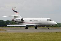 VP-BCV @ EGGW - 2002 Dassault Falcon 2000, c/n: 187 at Luton