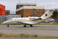 OK-FCY @ EGGW - Cessna 525A, c/n: 525A0204 at Luton