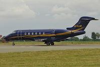 M-CLAB @ EGGW - 2009 Bombardier Canadair BD-100-1A10 Challenger 300, c/n: 20271