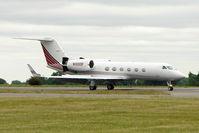 N100DF @ EGGW - 1997 Gulfstream Aerospace G-IV, c/n: 1313 at Luton