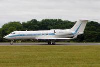 N123LV @ EGGW - Gulfstream Aerospace GIV-X (G450), c/n: 4181 at Luton - by Terry Fletcher