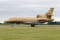VP-CDA @ EGGW - Dassault Dassault Falcon 900EX, c/n: 134