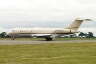 N404VL @ EGGW - 2001 Bombardier BD-700-1A10, c/n: 9085