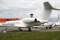 XA-FEM @ EGGW - Gulfstream Aerospace GV-SP (G550), c/n: 5281 at Luton