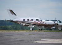 N2412G @ EGTF - Piper PA46-350P Malibu Mirage at Fairoaks. - by moxy