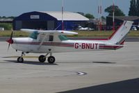 G-BNUT @ EGSH - Parked at Norwich. - by Graham Reeve