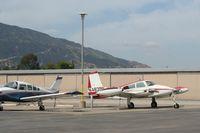 N4839B @ KAJO - Parked at Corona