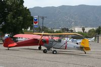N1936 @ KAJO - Parked with Taylorcraft NC27598 at the East end of the field.