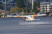 N72355 - Taking off in Lake Union. - by Zac G
