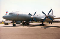 22 @ EGVA - Another view of the Il-38 May of the Russian Navy's Training Regiment based at Ostrov on display at the 1996 Royal Intnl Air Tattoo at RAF Fairford. - by Peter Nicholson