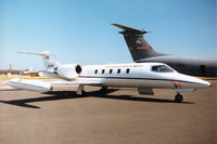 84-0068 @ EGVA - C-21A Learjet of the United States European Command Headquarters on display at the 1996 Royal Intnl Air Tattoo at RAF Fairford. - by Peter Nicholson