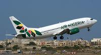 5N-VNF @ LMML - Air Nigeria - by frankiezahra