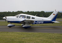 D-ENPR @ EBSP - Taxiing from rwy 05 to the parking place. - by Philippe Bleus