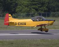 D-EHUW @ EBSP - Smooth landing on rwy 05. Still airborne. - by Philippe Bleus