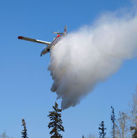 C-FDHK @ CYZH - Fighting Fires east of Slave Lake, AB - by William Heather