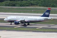 N756US @ TPA - US Airways A319