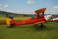G-ANDP @ EGAD - On the display line - EGAD Fly-in 2011 - by Noel Kearney