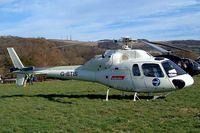 G-BTIS @ EGBC - Aerospatiale AS.355F1 Ecureuil II [5261] Cheltenham Racecourse~G 16/03/2004