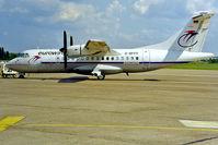 D-BFFF @ EDDI - Aerospatiale ATR-42-300 [130] (EuroWings) Berlin-Tempelhof~D 18/05/1998 - by Ray Barber