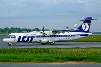 SP-LFC @ EPWA - Aerospatiale ATR-72-202 [272] (Eurolot) Warsaw-Okecie~SP 18/05/2004