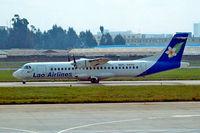 RDPL-34132 @ ZPPP - Aerospatiale ATR-72-202 [396] (Lao Airlines) Kunming-Wujiaba~B 22/10/2006