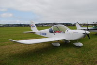 EI-DRW @ EGAD - Parked in the display area at Newtownards Airfield. - by Noel Kearney