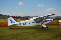 G-ARCT @ EGAD - Parked in the display area at Newtownards Airfield. - by Noel Kearney