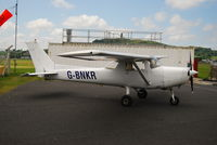 G-BNKR @ EGAD - Parked on the apron at Newtownards Airfield. - by Noel Kearney