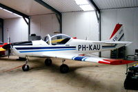 PH-KAU @ EGNG - hangared at Bagby Airfield, Yorkshire - by Chris Hall